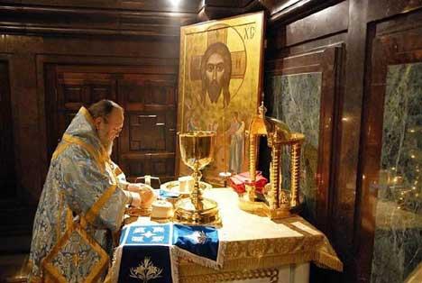 Беседа на светиот праведен Јован Кронштатски  за Божествената Литургија