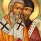 Кои му создадоа писменост и кои го преведоа Новиот и Стариот Завет на неговиот јазик, односно за блажениот Кирил и за Панонскиот Архиепископ Методиј