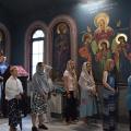 Божествена Литургија во пораклисот на св.Козма и Дамјан, Скопје (14.07.2018)