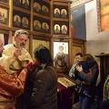 Божествена Литургија во храмот на св.Јован Крстител, н.Кaпиштец,Скопје (23.02.2020)