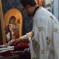 Божествена Литургија во храмот Рождество на Пресвета Богородица, Скопје (07.07.2020)