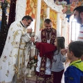 Божествена Литургија во храмот Рождество на Пресвета Богородица,  Скопје (18.10.2020)