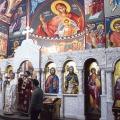 Божествена Литургија во храмот на св.пророк Илија, н.Аеродром Скопје (15.02.2021)