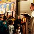 Божествена Литургија во храмот на св.Јован Крстител, н.Капиштец,Скопје (04.04.2021)